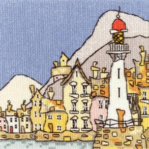 Michael Powell  Counted Cross Stitch Chart Pack: Mini Lighthouse I