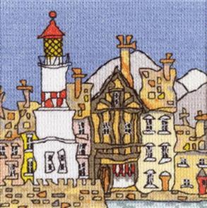Michael Powell  Counted Cross Stitch Chart Pack: Mini Lighthouse II
