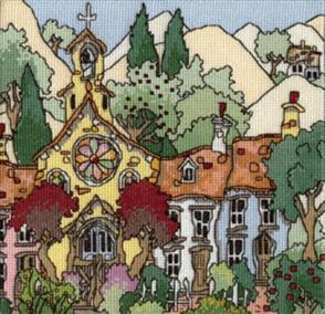 Michael Powell  Cross Stitch Chart Pack: Cottage Gardens 2