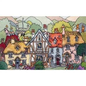 Michael Powell English Village 1 - Counted Cross Stitch Chart Pack