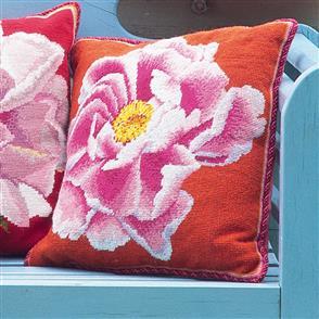 Ehrman Tapestry Kit - Coral Peony