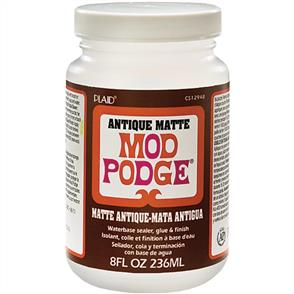 Plaid Mod Podge Antique Matte - 8oz