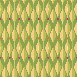 Clothworks  Seedheads Green