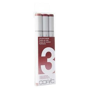 Copic Sketch Markers Set - Colour Fusion #3 Red