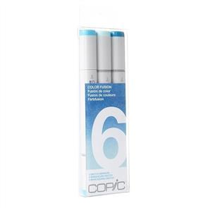 Copic  Sketch Markers Set - Colour Fusion #6 Blue