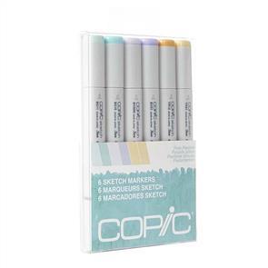 Copic Sketch Markers Set - Pale Pastels Set