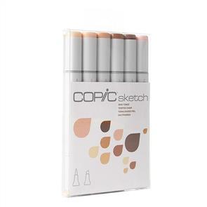 Copic  Sketch Markers Set - Skin Tones