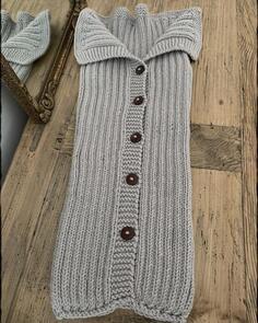 The Kiwi Stitch & Knit Co  Baby Cocoon Pattern