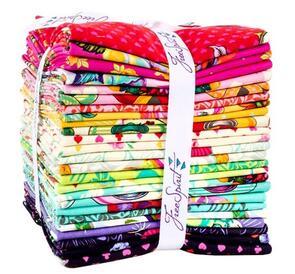 Free Spirit Tula Pink Curiouser & Curiouser Fat Quarter Bundle 25/pc