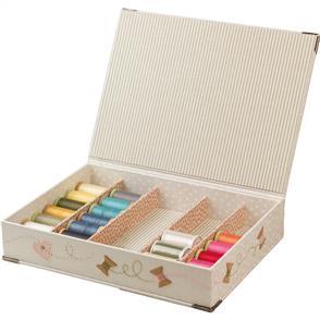 Rinske Stevens  Quilt Spool Box