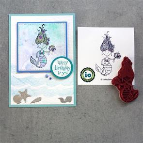 Impression Obsession Stamp - Mermaid Jill