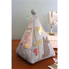The Birdhouse  Mouse Pincushion