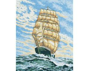 Collection D'Art  Tapestry Canvas 50X60 Galleon