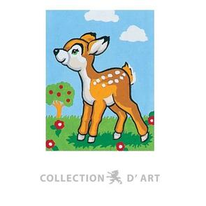 Collection D'Art  Tapestry Canvas 20X25 Fawn