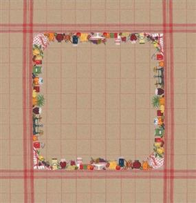 Le Bonheur Des Dames  Tablecloth Fruits - Cross Stitch Kit