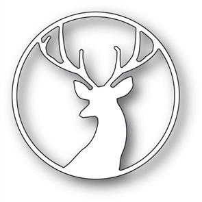 Memory Box  Fancy Deer Circle - Die