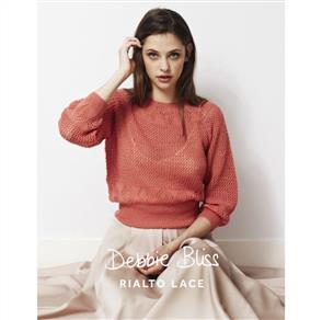 Debbie Bliss  Pattern - Diamond Lace Sweater