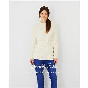 Debbie Bliss  Pattern - A Line Cable Sweater
