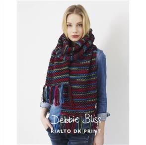 Debbie Bliss  Pattern - Fingered Wrap
