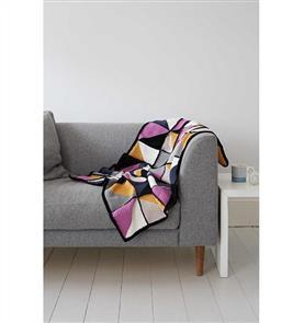 Debbie Bliss  Pattern - Graphic Crochet Blanket