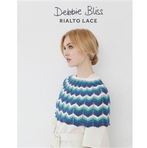 Debbie Bliss  Pattern - Lace Shoulder Cape & Skirt