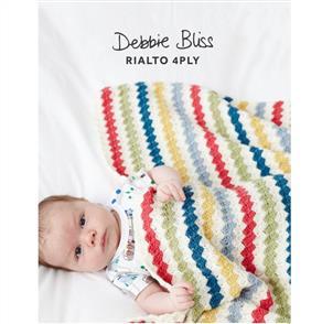 Debbie Bliss Pattern - Striped Crochet Blanket