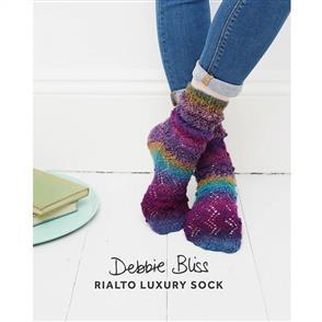 Debbie Bliss  Pattern - Bobble Lace Socks