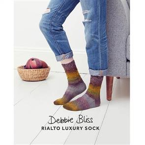Debbie Bliss  Pattern - Lace Diamond Socks
