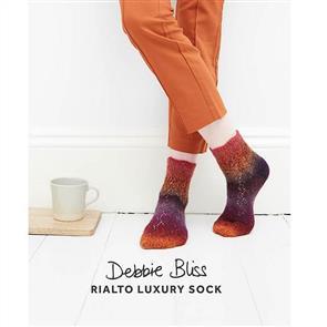 Debbie Bliss  Pattern - Zig Zag lace Socks