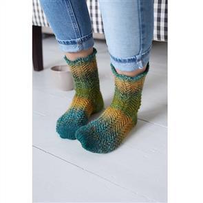 Debbie Bliss  Pattern - Picot Edge Lace Sock