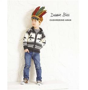 Debbie Bliss  Pattern - Eagle Jacket