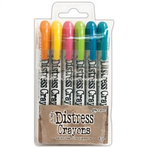 Ranger Ink Tim Holtz Distress Crayon Set #1