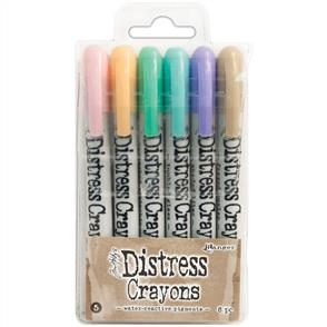 Ranger Ink Tim Holtz Distress Crayon Set #5
