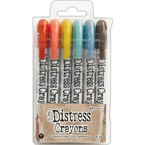 Ranger Ink Tim Holtz Distress Crayon Set #7