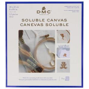 DMC Soluble Canvas 20cm x 22cm