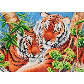 Advanced Kit - Tender Tigers 52 x 37cm