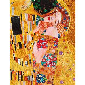 """Diamond Dotz  Art Kit - The Kiss (Klimpt) 28 x 22"""""""