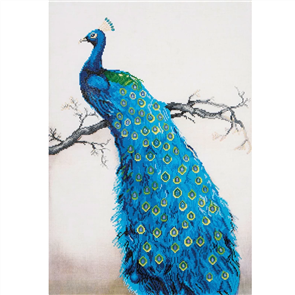 Diamond Dotz  Art Kit - Blue Peacock 33.1 x 23.6""