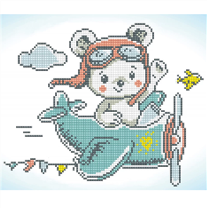 Diamond Dotz Aero Bear