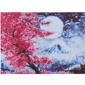"Diamond Dotz Art Kit - Cherry Blossom Mountain 15 x 20.5"""