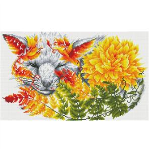 Diamond Dotz Art Kit - Fern Fox 12.6 x 20.5 in