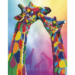 Diamond Dotz Art Kit - Giraffes 47 x 37cm