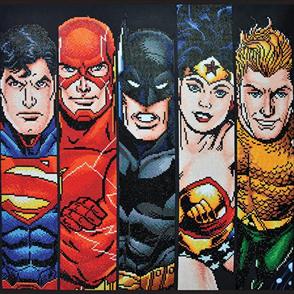 Diamond Dotz Art Kit - DC - Fabulous Five