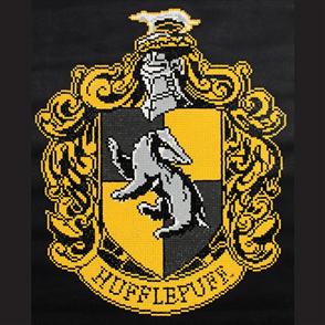 Diamond Dotz Art Kit - Harry Potter - Hufflepuff Crest