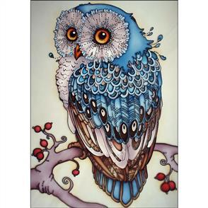 Collection D'Art Diamond Art Kit - Owl 27x38cm
