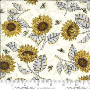 Moda Sunflower Studies on Parchment