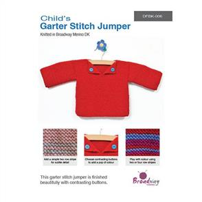 Broadway  Garter Stitch Jumper