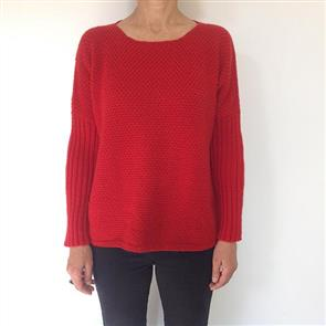 Broadway  Dolman Textured Sweater