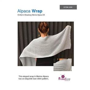 Broadway Alpaca Wrap Pattern