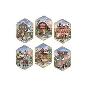 Dimensions  Gold Collection Cross Stitch Kit - Christmas Village Ornaments